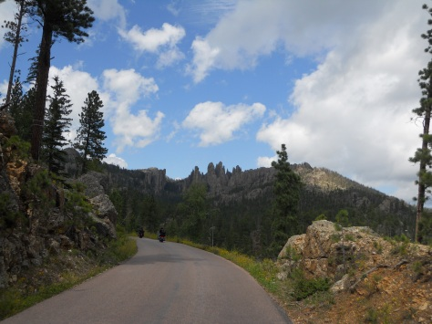 Needles Highway, near Keystone, South Dakota