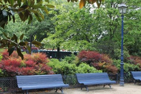 Paris: Parc de la Tour Saint-Jacques