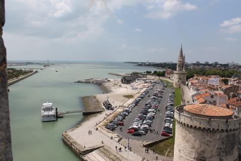 View from Tour Saint-Nicolas
