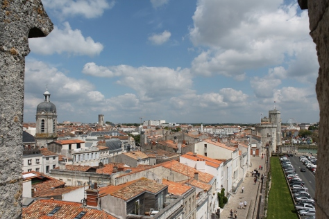La Rochelle from on high