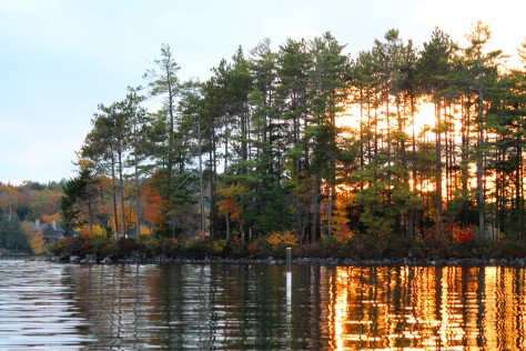 Sunset on Lake Sunapee