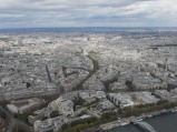 Paris, from the top of La Tour Eiffel