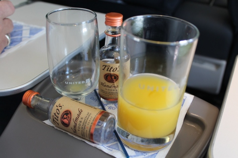OJ, the way they do it in First Class