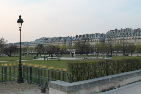 Jardin des Tuileries, looking toward rue de Rivoli