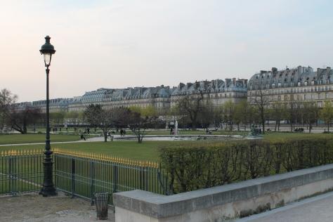 Jardin des Tuileries, looking toward rue de Rivoli