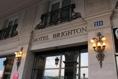 Hotel Brighton, Paris