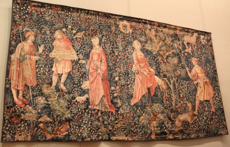 Mille-Fleurs Tapestry, Louvre