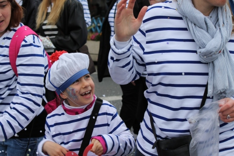 Carnaval de La Rochelle --  The Ubiquitous French Mariner Shirt