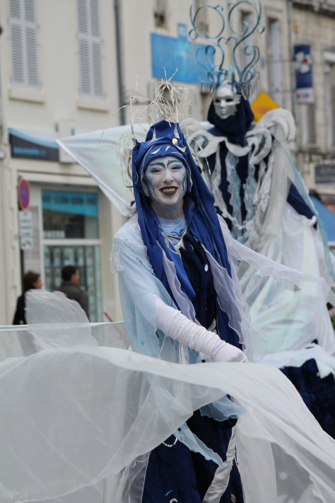 Carnaval de La Rochelle -- On Stilts