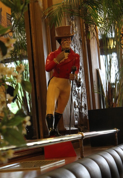 Johnny Walker in Café de la Paix – (No he wasn't the guy in the restroom.)