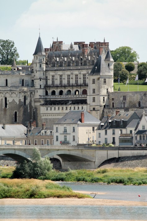 Amboise from across the Loire
