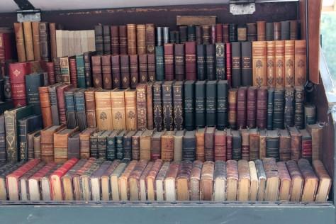 Les livres d'un bouquiniste de Paris -- Rive Droite