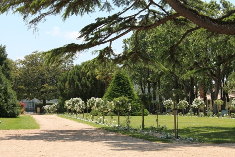 Parc above Le Corderie Royale, Rochefort