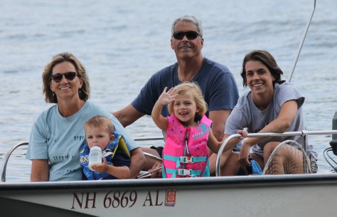 Cousins: Pete and Tammy Kraeger, Ali, Molly and Owen Fox