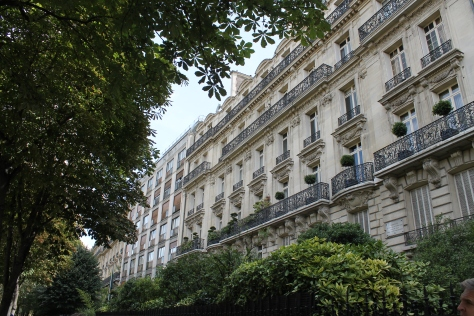 Avenue Victor Hugo, in the posh 16th arrondissement