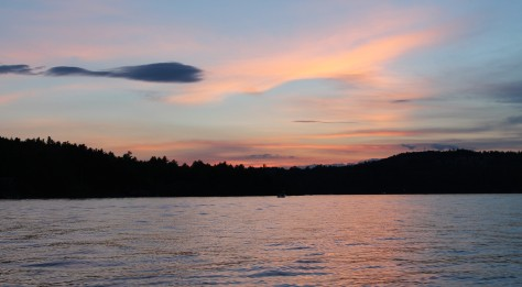 Sunset on Sunapee Cropped