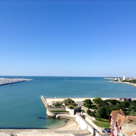 Atlantic as seen from atop Tour de la Lanterne -- Photo by Chelsea