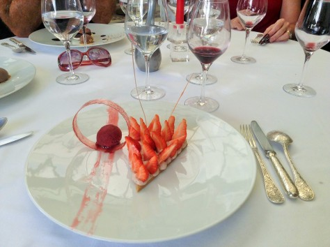 Dessert at Les 4 Sergents, La Rochelle -- Photo by Chelsea