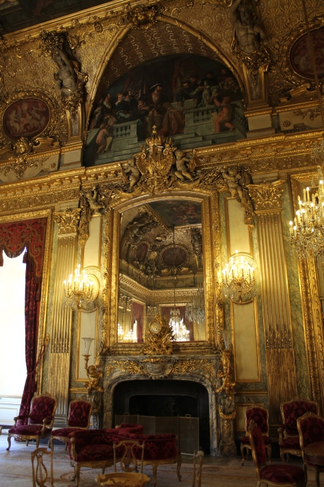 Apartments of Napoleon III in the Louvre