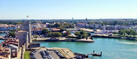 La Rochelle from Tour de la Lanterne -- Photo by Chelsea