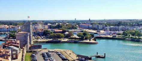 La Rochelle from Tour de la Lanterne -- Photo by Chelsea