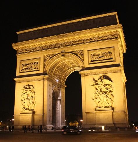 L'Arc de Triomphe Cropped