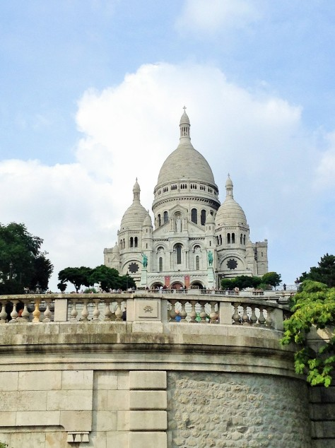 Sacré-Coeur -- Photo by Chelsea