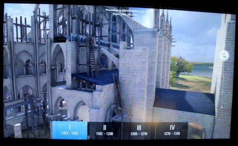 3D Experience of Notre Dame between 1163 and