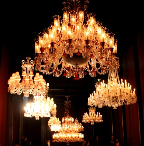 Baccarat Chandelier Room