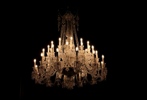Baccarat Electric Candle Chandelier