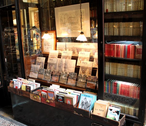 Book Shop in Covered Passage of Paris