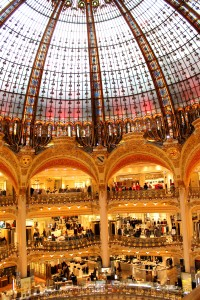 Ceiling and Etages Galerie Lafayette