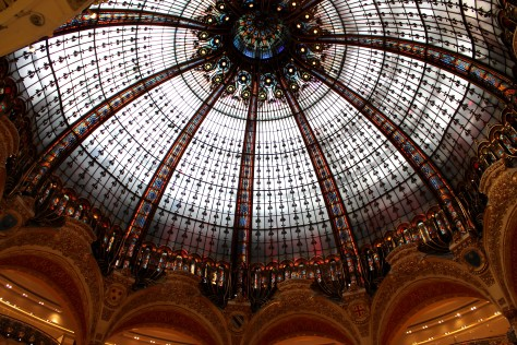 Ceiling of Galeries Lafayette, Paris