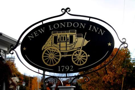 New London Inn Sign