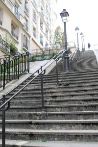 Steps of Montmartre