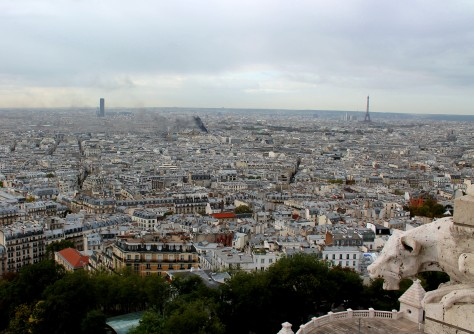Tour Eiffel from atop Sacre Coeur