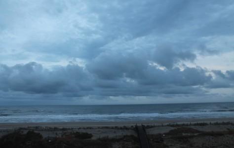 Blue Dawn over the Atlantic