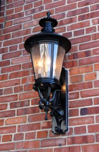 Brick and Lamp
