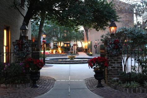 Chrismas Courtyard