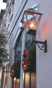 Christmas Gas Lamp