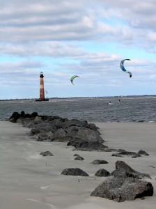 December Kite Boarders