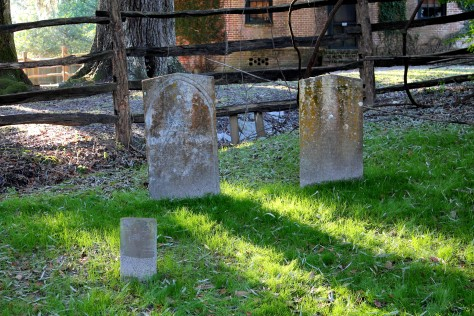 Slave Graveyard at Middleton Place