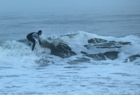 Surfer on Folly