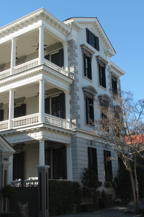 Posh version of the typical Charleston style house