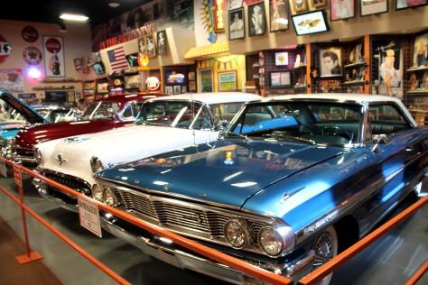 Car Museum Blue Car