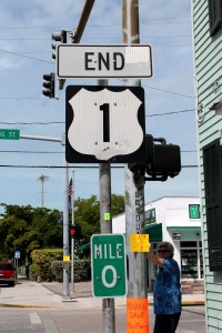 End of Route 1