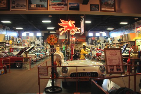Russell's Truck & Travel Center Car Museum