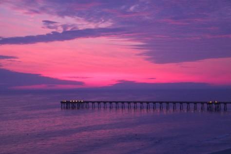 Sunset on Panama City Beach