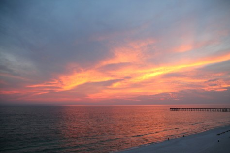 Sunset on Panama City Beach