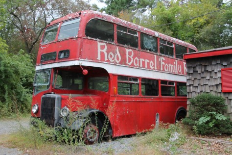 Red Barrel Bus